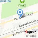 Гемотест на карте Дзержинска