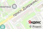 Схема проезда до компании Дионис в Дзержинске