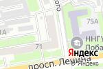 Схема проезда до компании Оперативно-диспетчерская служба ЖКХ в Дзержинске