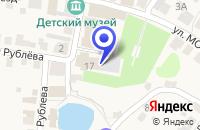 Схема проезда до компании ГОРОДЕЦКИЙ ДОМ ДЕТСКОГО ТВОРЧЕСТВА в Городце