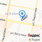 Дзержинское городское объединение охотников и рыболовов на карте Дзержинска