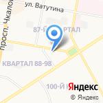 Антошка на карте Дзержинска