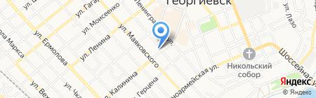 Мокко на карте Георгиевска