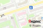 Схема проезда до компании Дзержинский кожно-венерологический диспансер в Дзержинске