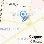 Отдел по исполнению административного законодательства на карте Дзержинска