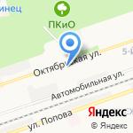 Дзержинский кожно-венерологический диспансер на карте Дзержинска