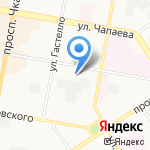 Детский сад №103 на карте Дзержинска