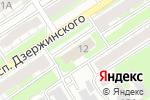 Схема проезда до компании Управление ФСБ РФ по Нижегородской области в Дзержинске