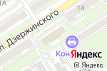 Схема проезда до компании Дубовый веник в Дзержинске
