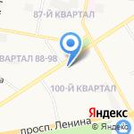 Государственная инспекция по надзору за техническим состоянием самоходных машин и других видов техники Нижегородской области на карте Дзержинска