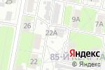 Схема проезда до компании Олимп в Дзержинске