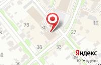 Схема проезда до компании Косметик-профи в Георгиевске