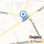 Новый переезд на карте Дзержинска