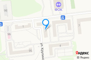 Однокомнатная квартира в Городце ул. Крупинова, 5