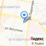 Трушин В.И. на карте Дзержинска