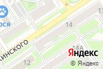 Схема проезда до компании Галерея окон в Дзержинске