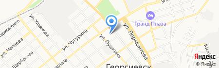 Детский сад №26 Ласточка на карте Георгиевска