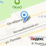 Айтем на карте Дзержинска