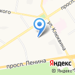 АВТОПРОФИЛЬ на карте Дзержинска