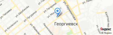 Нео-климат на карте Георгиевска