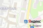 Схема проезда до компании Купидон в Дзержинске