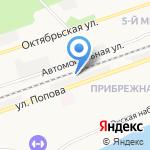 Лиственница Сибири на карте Дзержинска