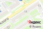 Схема проезда до компании Эффектная форма в Дзержинске