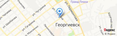 Кристалл + на карте Георгиевска