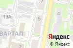 Схема проезда до компании Маркет-авто в Дзержинске