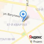 Юничел на карте Дзержинска