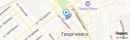 Отдел Военного комиссариата по г. Георгиевску и Георгиевскому району на карте Георгиевска