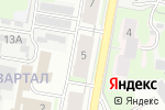 Схема проезда до компании Магазин автозапчастей в Дзержинске