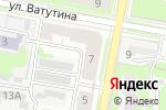 Схема проезда до компании Уголовно-исполнительная инспекция в Дзержинске