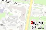 Схема проезда до компании Городское Жилье, МУ в Дзержинске