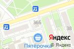 Схема проезда до компании Руно в Дзержинске