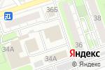 Схема проезда до компании Авто`Р в Дзержинске