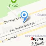 Аппарем на карте Дзержинска