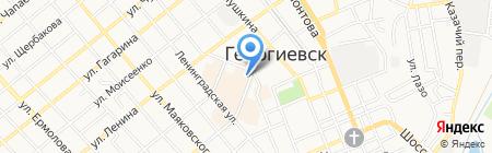 Арт-Юг на карте Георгиевска