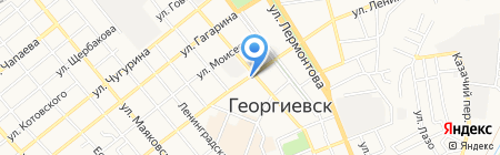 KDL на карте Георгиевска