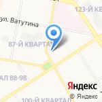 Травматологический пункт на карте Дзержинска