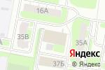 Схема проезда до компании Пироговский в Дзержинске