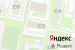 Схема проезда до компании Трио в Дзержинске