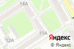 Схема проезда до компании Безопасность Д в Дзержинске