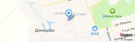 Магазин женской одежды на карте Богородска