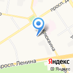 АВТОЛИСТ на карте Дзержинска