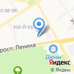 Дзержинский химический техникум им. Красной Армии на карте Дзержинска