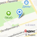 Детский сад №24 на карте Дзержинска