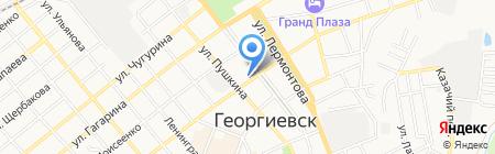 Отдел опеки и попечительства на карте Георгиевска