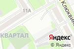 Схема проезда до компании Стекольная мастерская в Дзержинске