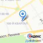 Стекольная мастерская на карте Дзержинска